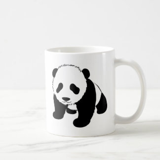 Panda linda del bebé tazas