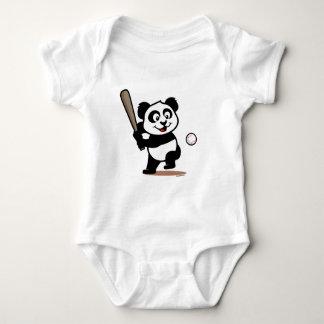 Panda linda del béisbol t shirts