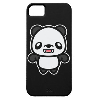 Panda linda del vampiro de Kawaii iPhone 5 Case-Mate Cobertura