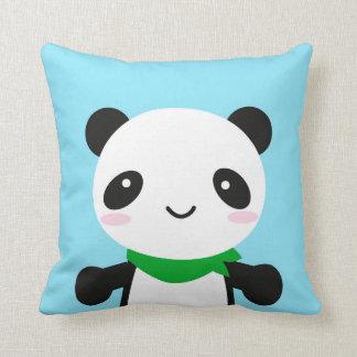 Panda linda estupenda de Kawaii Cojín