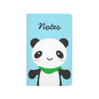 Panda linda estupenda de Kawaii Cuadernos Grapados