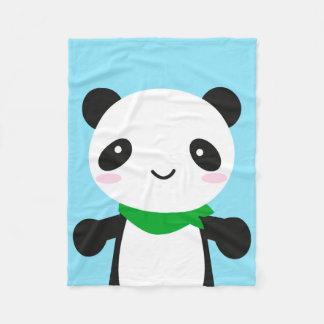 Panda linda estupenda de Kawaii Manta De Forro Polar