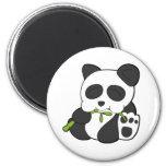 Panda linda imán