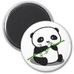 Panda linda imán de frigorífico