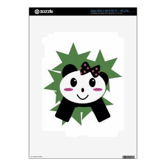 Panda linda iPad 3 skins