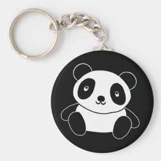 Panda linda llaveros