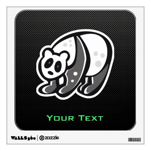 Panda linda; Negro