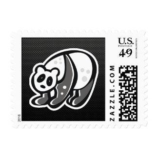 Panda linda; Negro Sello