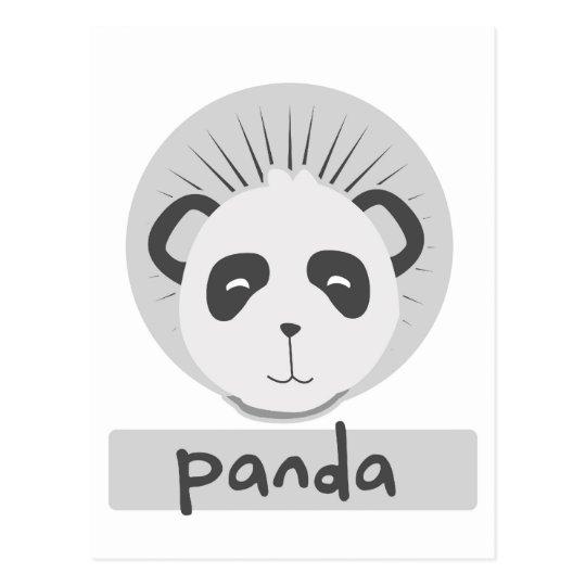 panda linda postales
