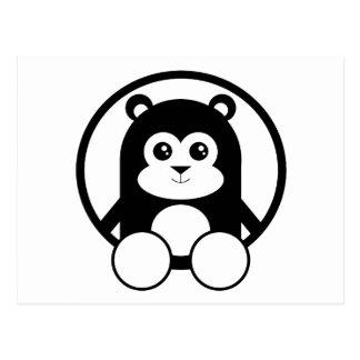 Panda linda tarjetas postales