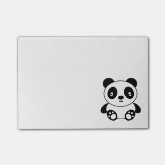 Panda linda post-it notas