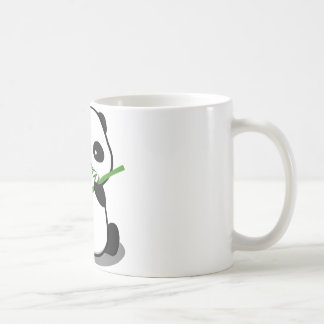 Panda linda tazas de café