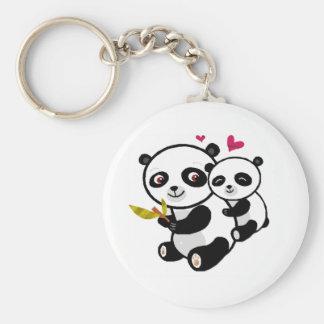 Panda Love <3 Key Chain