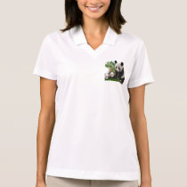 Panda Love art Polo Shirt