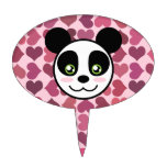 """""""Panda Love"""" Cake Topper"""