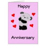 Panda love cards