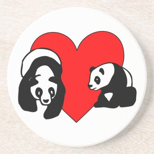 Panda Love Coaster
