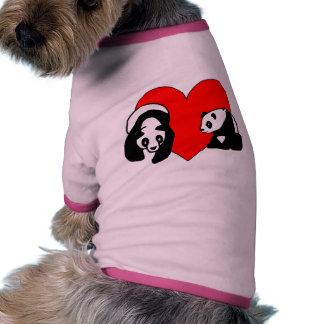Panda Love Doggie Shirt