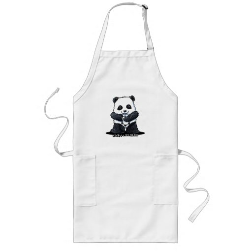 Panda Love Long Apron
