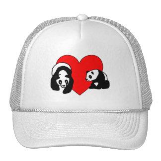 Panda Love Mesh Hat