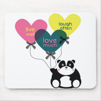 Panda Love Mousepand Mouse Pad