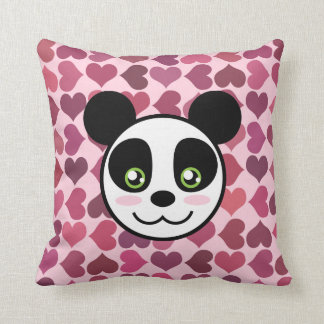 """Panda Love"" Pillow"