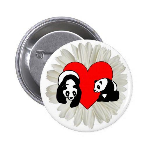 Panda Love Pin