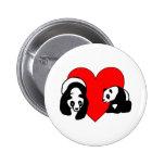 Panda Love Pins