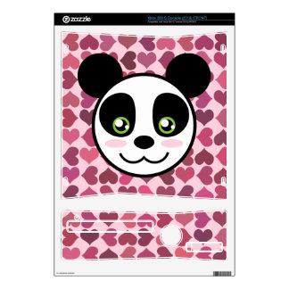"""Panda Love"" Xbox 360 S Console Skins"