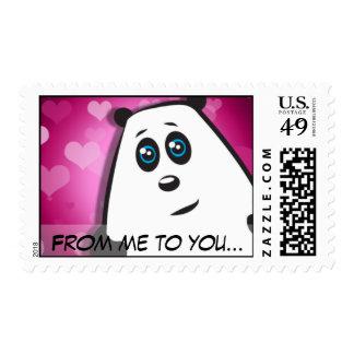 Panda Love Stamp