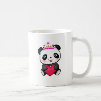 Panda Lover Fan Gift Valentine's Day Heart Present Coffee Mug