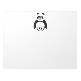 Panda Lover Notepad