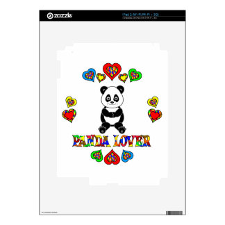 Panda Lover Decal For The iPad 2