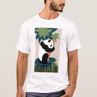 Panda Loves Tree At Zoo 1938 WPA T-Shirt