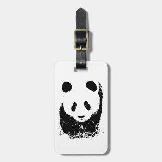 Panda Luggage Tags