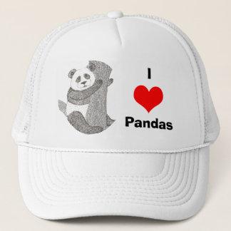 Panda luv Hat