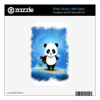 Panda Mage Decals For iPod Touch 4G