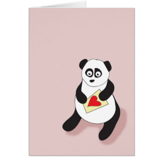 Panda Mail Greeting Card