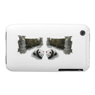Panda Male and Female iPhone 3 Cases