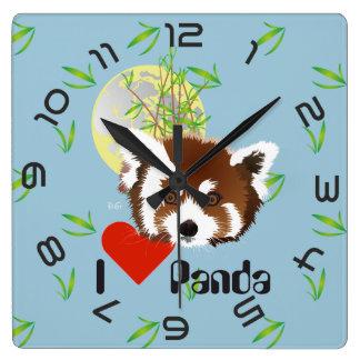 Panda meeting clock