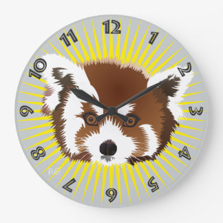 Panda meeting clock