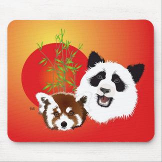 Panda meeting mouse PAD