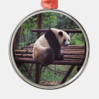 Panda Metal Ornament