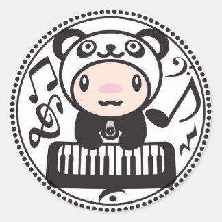 Panda_Method Classic Round Sticker