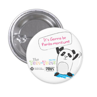 Panda-monium Pinback Button