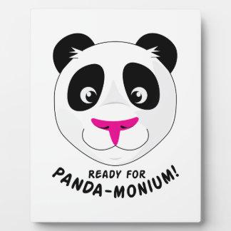 Panda-Monium Plaques