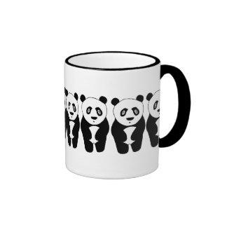 Panda-monium Ringer Mug
