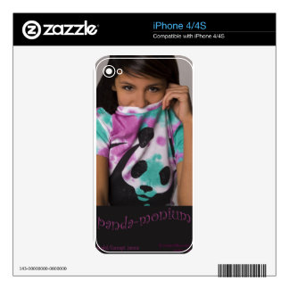 PANDA-MONIUM SKIN FOR iPhone 4