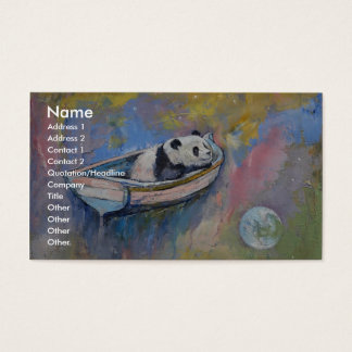 Panda Moon Business Card