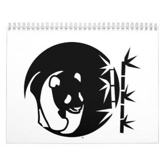 Panda moon calendar
